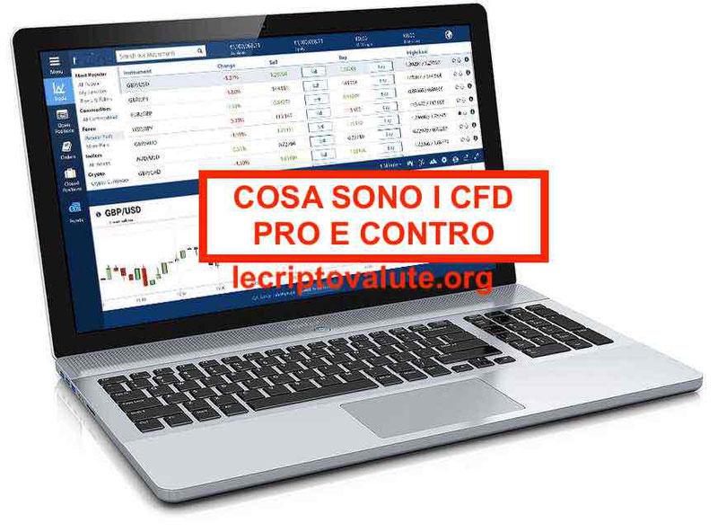 Cosa sono i CFD Contratti per differenza Guida trading