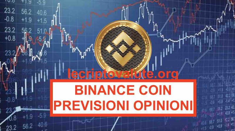 Come comprare Binance Coin opinioni valore previsioni BNB