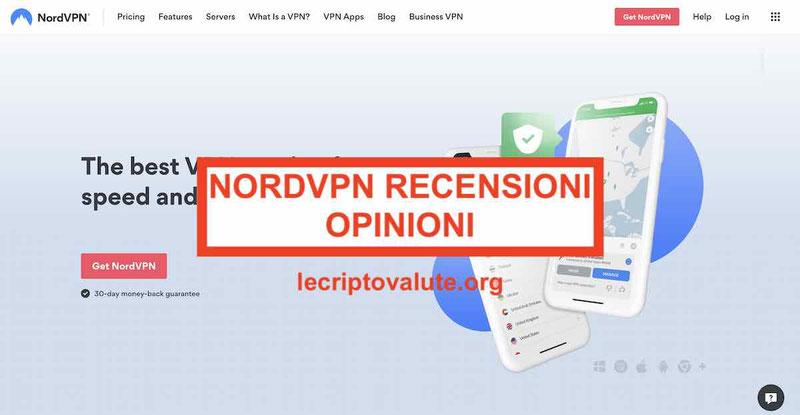 NordVPN recensioni opinioni Funziona Migliore VPN