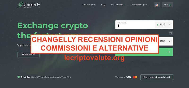 Changelly recensioni commissioni, alternative, cos'è opinioni exchange