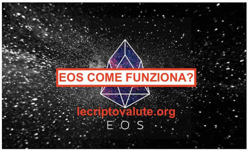 EOS Criptovaluta: cos'è come e dove comprare EOS crypto