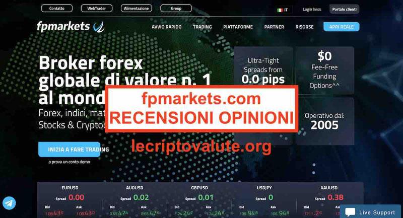 fp markets opinioni recensioni mt4