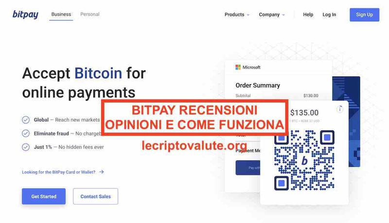 BitPay Italia come funziona? Recensioni opinioni carta prepagata