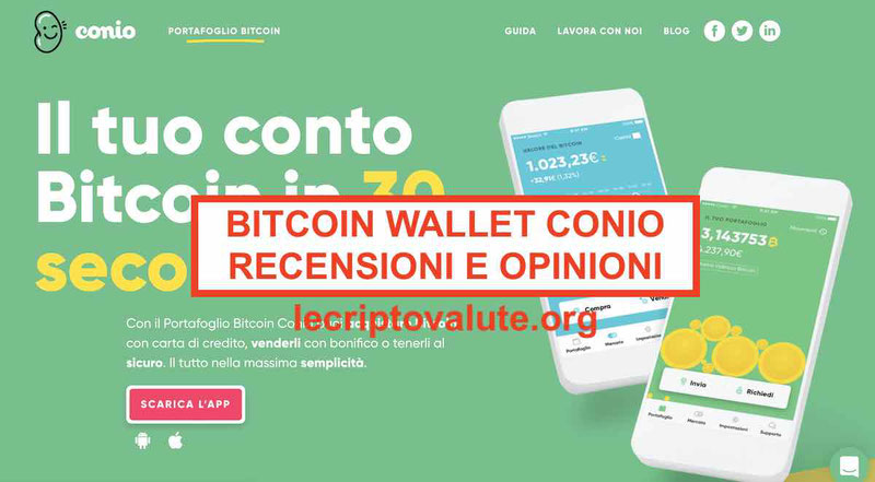 Bitcoin Wallet Conio recensioni opinioni Alternative