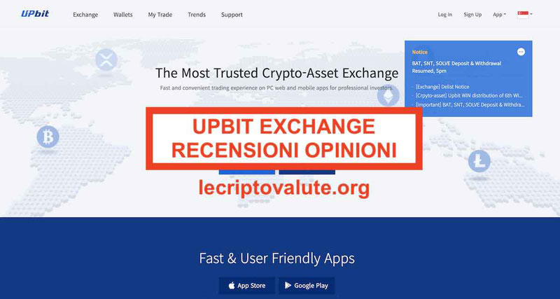 UPBit Exchange Recensioni Opinioni: Truffa Alternative
