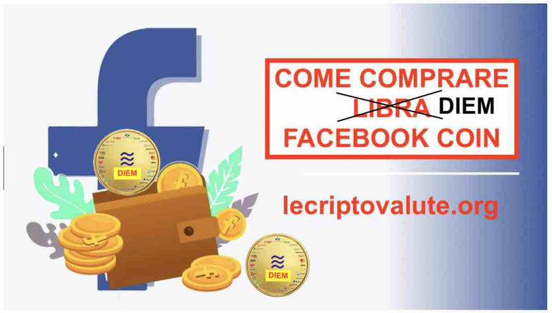 Come Comprare Diem Libra Facebook senza commissioni