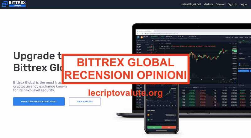 Bittrex opinioni tutorial italiano: come depositare fare registrazione