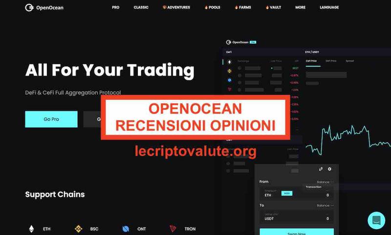OpenOcean recensioni opinioni in italiano OOE) affidabile