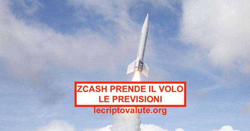 Zcash valore impenna 400$ dopo annuncio della quotazioneGemini