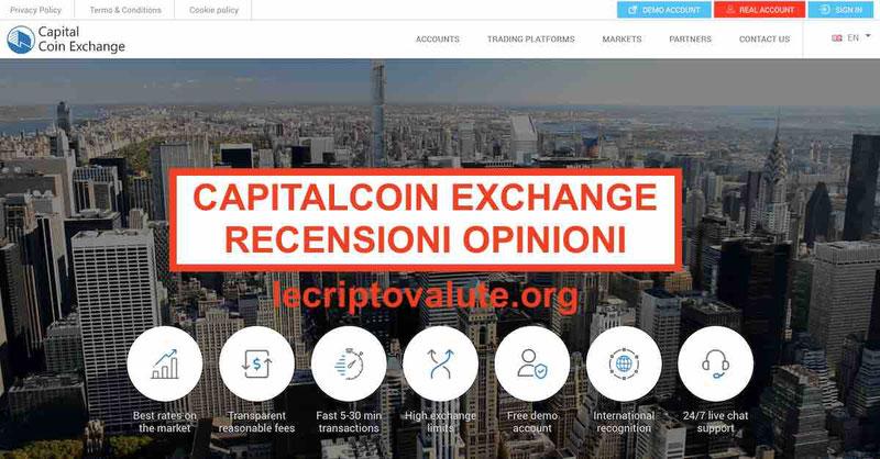 CapitalCoinX recensioni opinioni truffa? Recensioni [Guida 2019]