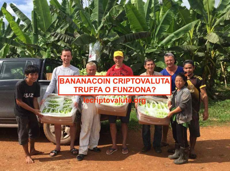 bananacoin criptovaluta ico come funziona cos'è