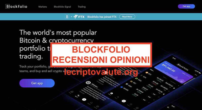 Blockfolio recensioni opinioni come funziona Euro alternative