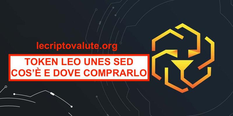 Dove comprare LEO Token cos'è [Unus Sed]: Prezzo, previsioni