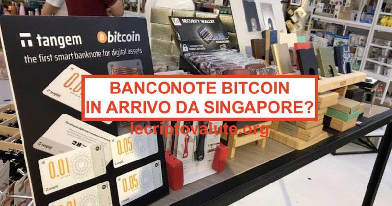 Le Bitcoin Banconote smart pronte ad entrare in circolazione