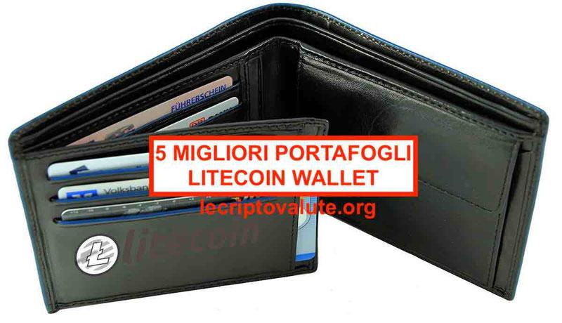 5 migliori portafoglio Litecoin Wallet per LTC sicuro [guida 2019]