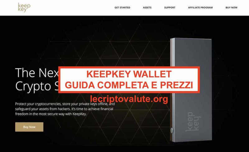KeepKey wallet per criptovalute bitcoin: recensioni opinioni [2019]