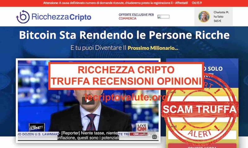 Ricchezza Cripto recensioni opinioni truffa? [2019] Flavio Briatore berlusconi bufala