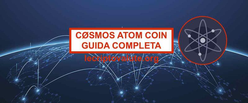 Cosmos ATOM Coin Network recensioni prezzo caratteristiche [Guida]