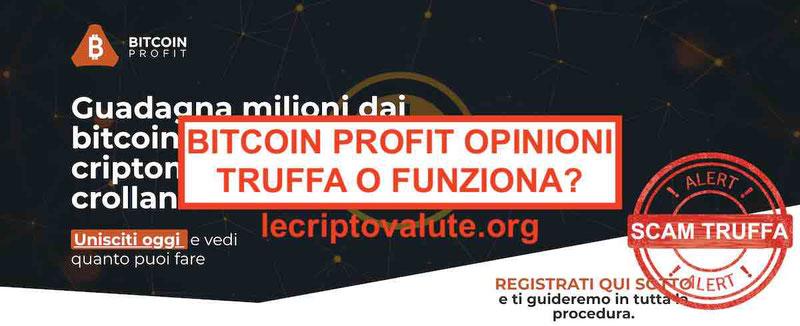 Bitcoin Profit opinionitruffasoldi facili: Recensioni forum italiano