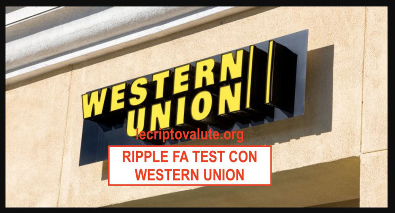 western union test ripple blockchain 2018