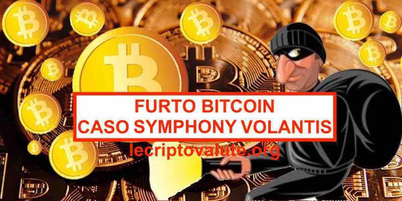 furto bitcoin symphony volantis