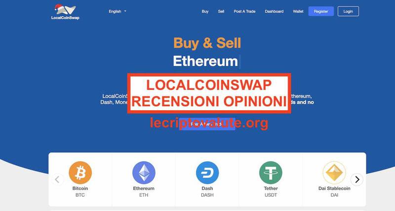 LocalCoinSwap P2P exchange opinioni recensioni truffa