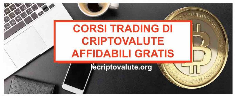 Corso trading criptovalute gratisGuida Bitcoin completa