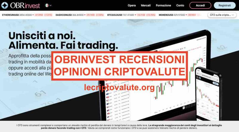 OBRinvest recensioni opinioni negative Italia Truffa o paga?