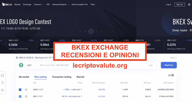 BKEX Exchange recensioni e opinioni: funziona o truffa? Guida