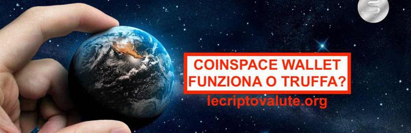 CoinSpace wallet 2018 truffa le recensioni e opinionidi S-Coin