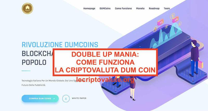 Double up mania recensioni truffa opinionirecensioni dum coin 2019