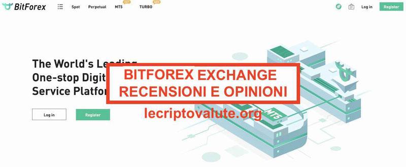 BitForex exchange recensioni opinioni italiano truffa funziona