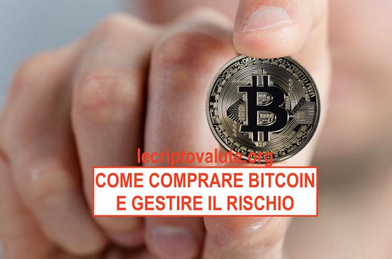 come comprare bitcoin e gestione del rischio 2018
