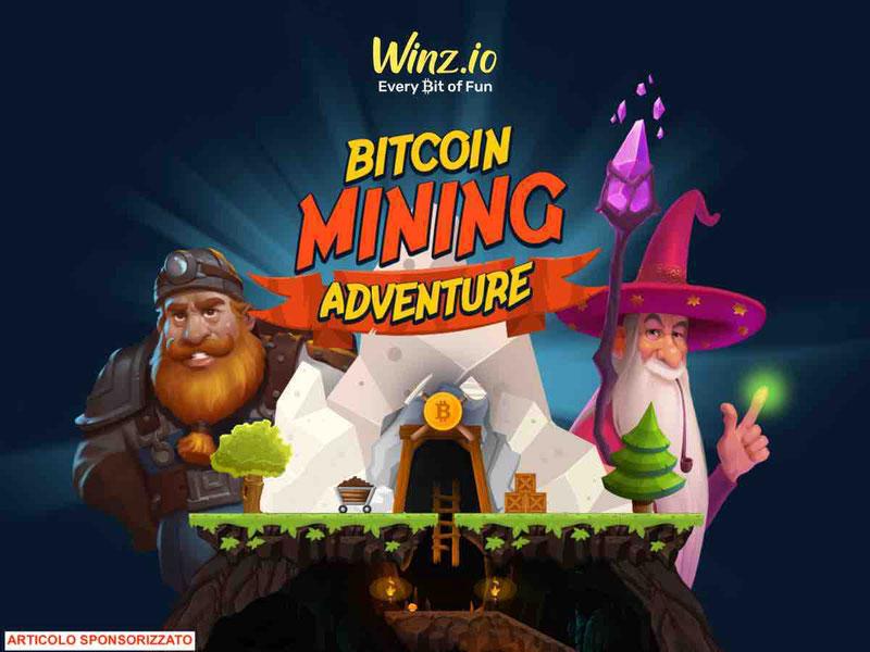 Winz.io lancia la gratificante avventura di Bitcoin mining con 1 BTC Grand Prize