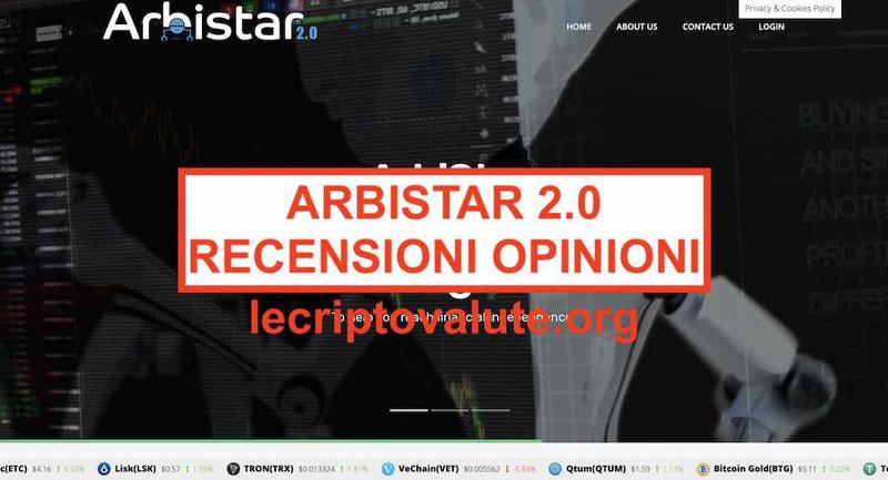ArbiStar 2.0 opinioni recensioni Funziona o truffa il robot