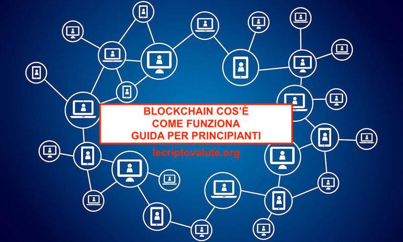 blockchain come funziona significato cos'è in italiano