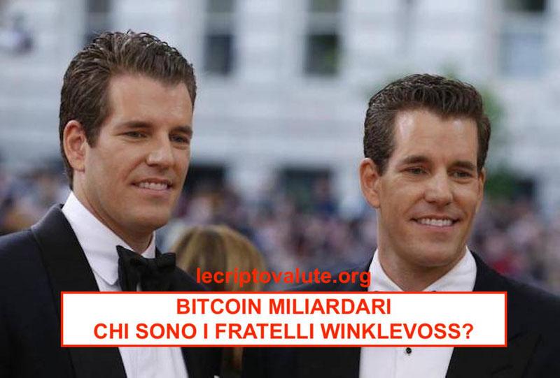 bitcoin miliardari gemelli winklevoss facebook