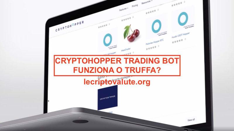 GuidaPrincipiantiCryptohopper Trading Bot: recensioni complete