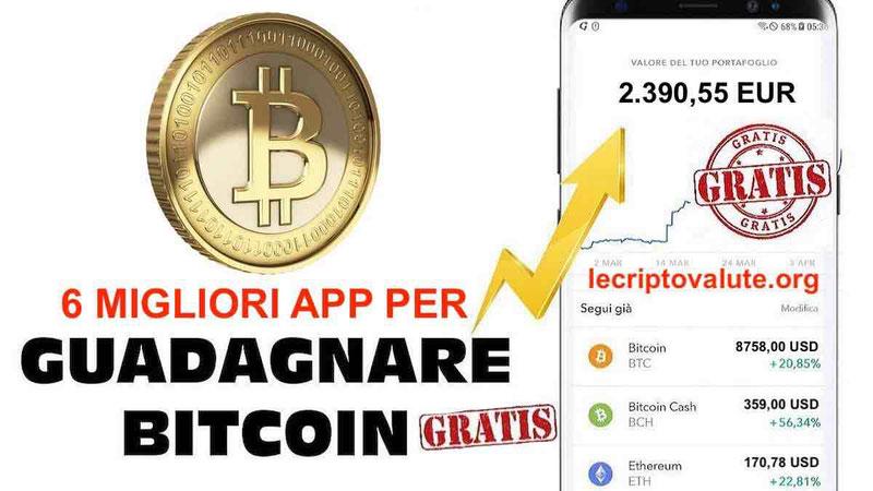 6 migliori App per guadagnare Bitcoin gratis
