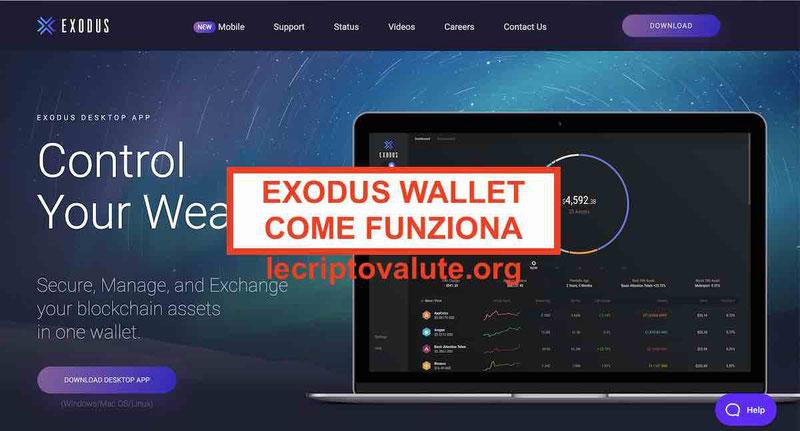 Exodus wallet opinioni recensioni: come funziona [Guida Forum 2019]