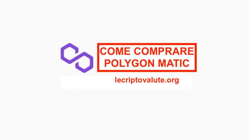 ▷ Dove e come comprare Polygon Matic Grafico e Guida completa
