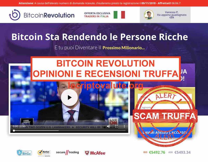 Bitcoin Evolution Truffa opinioni e recensioni Revolution2018-2019