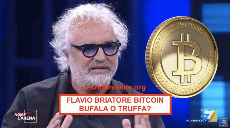 Flavio Briatore Bitcoin: bufala o truffa? [2019] Opinioni