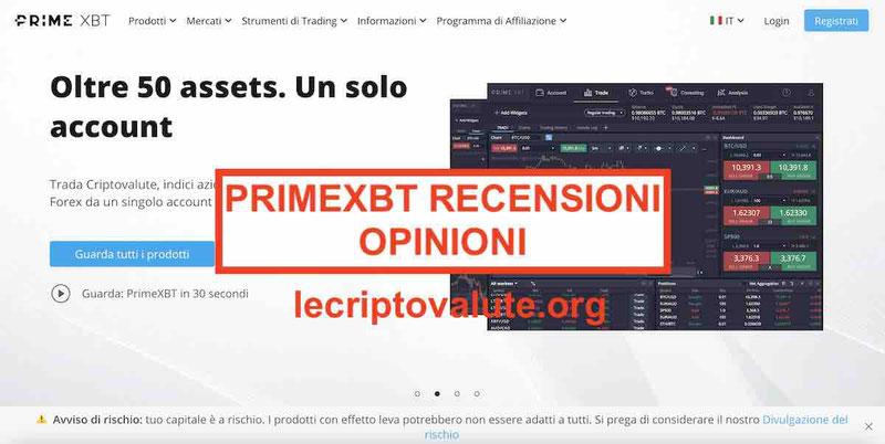 PrimeXBT recensioni opinioni truffa o affidabile Guida