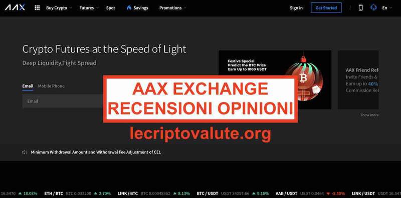 AAX Exchange recensioni e opinioni