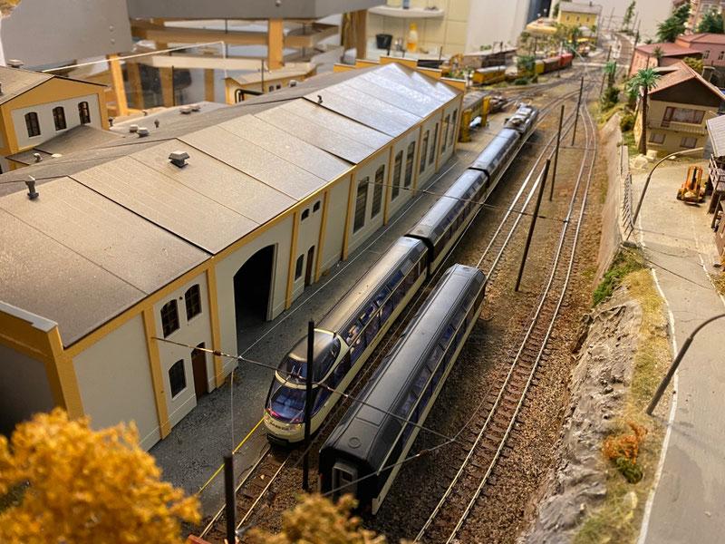 Depot Bemo H0m Schmalspurmodell
