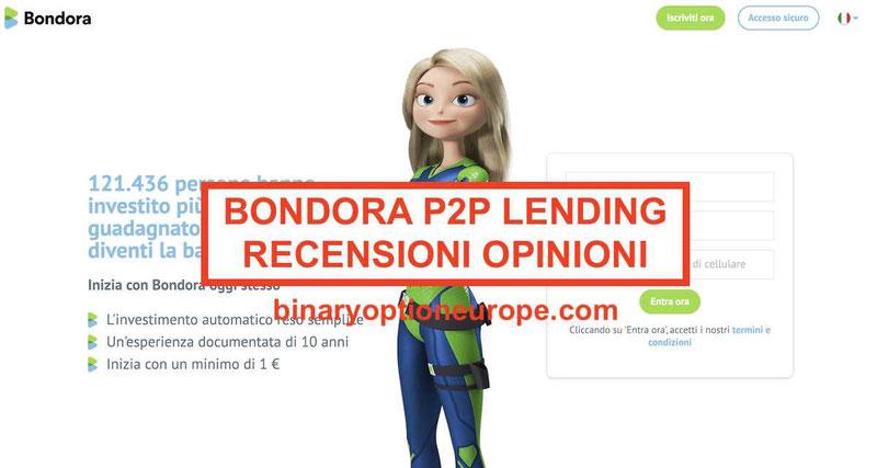 Bondora recensioni opinioniP2P prestiti e investimenti