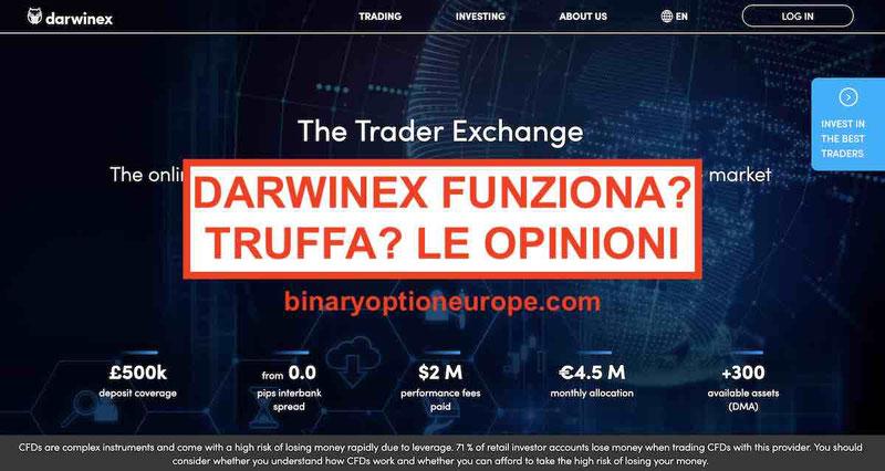 Broker Darwinex opinioni recensioni truffa Pareri forum Italia