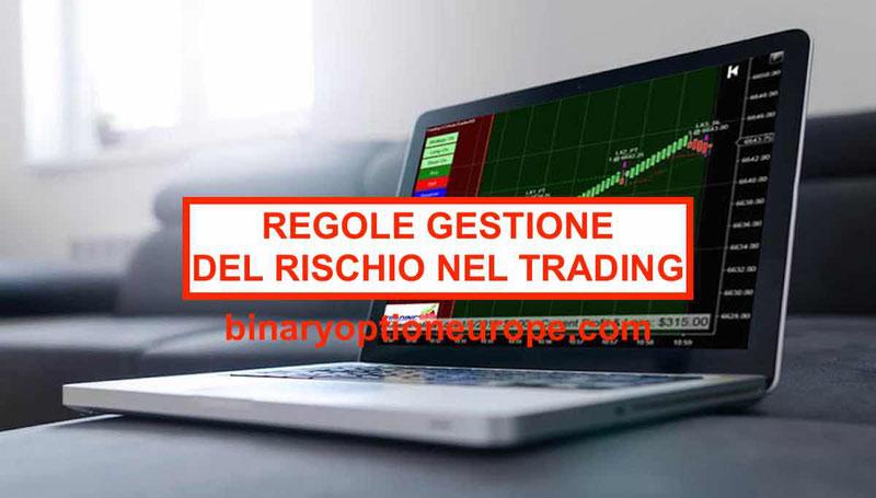 5 regole per sana gestione del rischio nel trading con alta volatilita