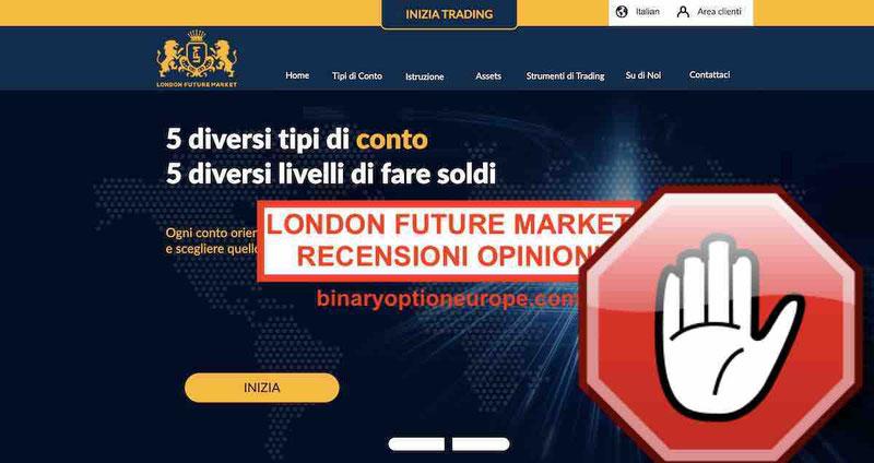 London Future Marketrecensioniopinioni truffa [2019] avviso CONSOB